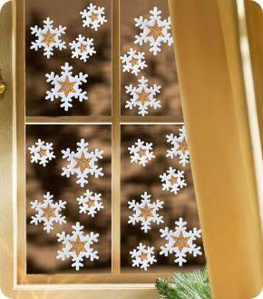 Decoracion de navidad para ventanas navidad pinterest for Decoracion navidena puertas y ventanas