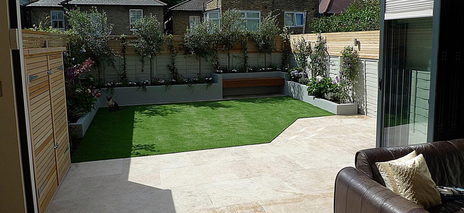 modern small garden design low maintenance ourdoor room ...