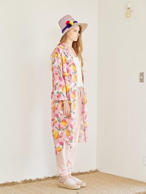 Anna robe pink lemon | Pink lemon, Dressing gown and Products