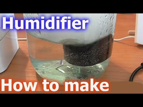 Homemade Humidifier Diy Using Cheap Ultrasonic Mist Maker Fogger For Less Than 10 Youtube Homemade Humidifier Humidifier Diy Scent