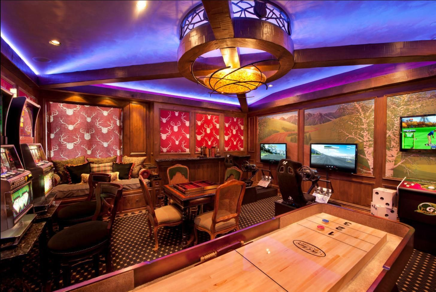 Luxury Room Decorating Games For Adults Game Room Design