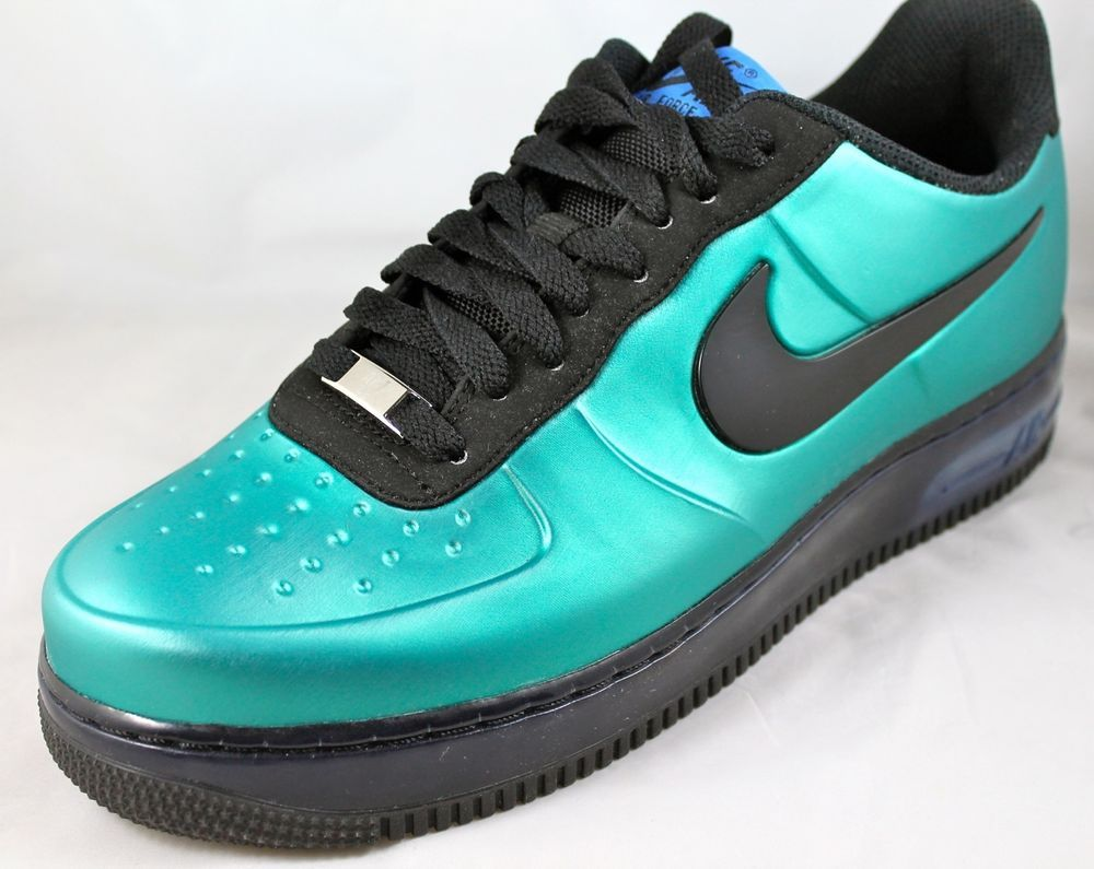 42a08d384f NIKE AIR FORCE 1 Foamposite Pro Low AF1 New Green Black 532461-300 Sz 11.5