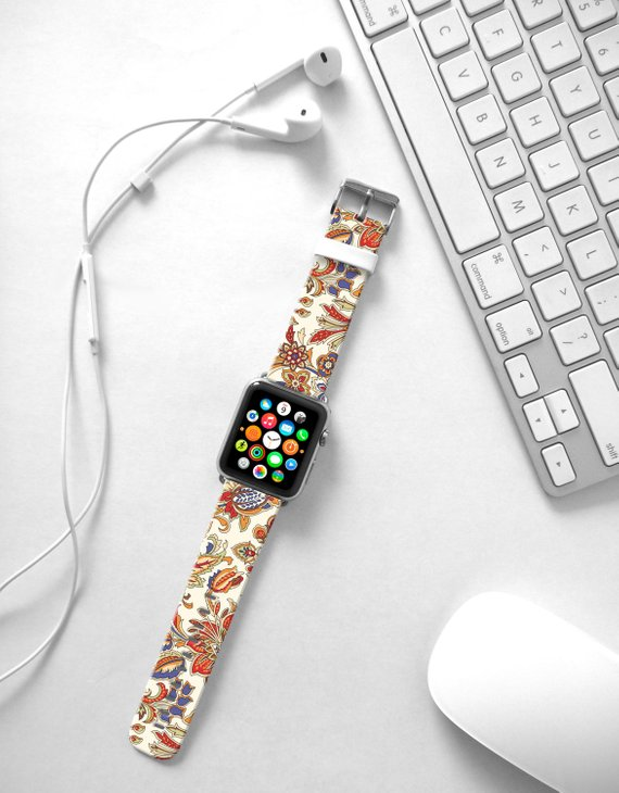 4ceb86948 Apple Watch Band 38mm women, Apple Watch band 42mm for series 1, 2 & 3, Apple  Watch Strap genuine Ca