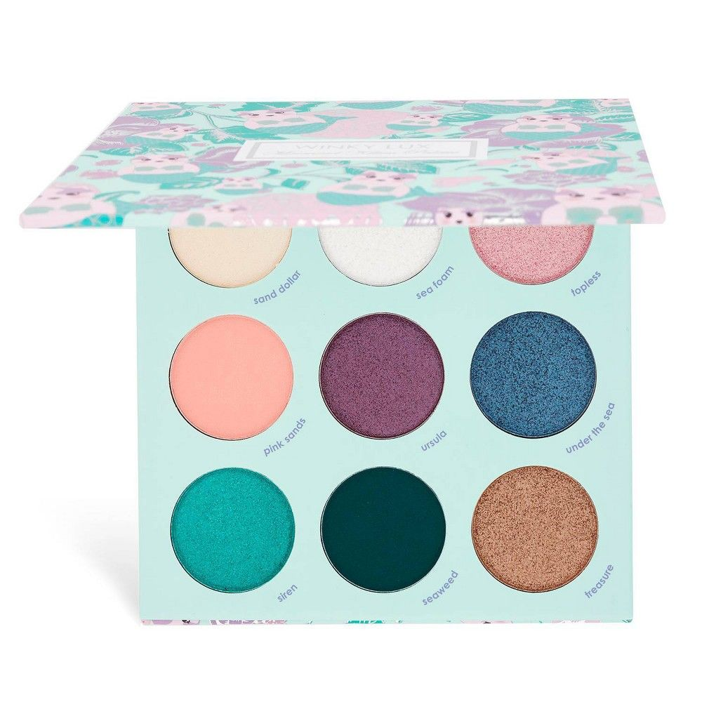 Winky Lux Kitten Eyeshadow Palette Mermaid 0 53oz In 2020 Eyeshadow Palette Winky Lux Magnetic Makeup Palette
