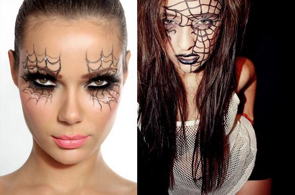 Maquiagem feminina para Halloween