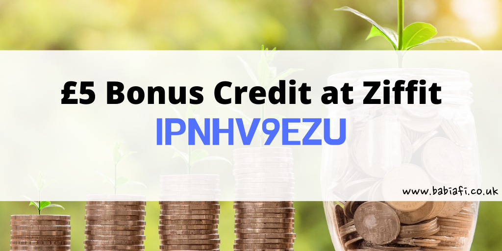 £5 extra Ziffit credit with referral code / link - IPNHV9EZU