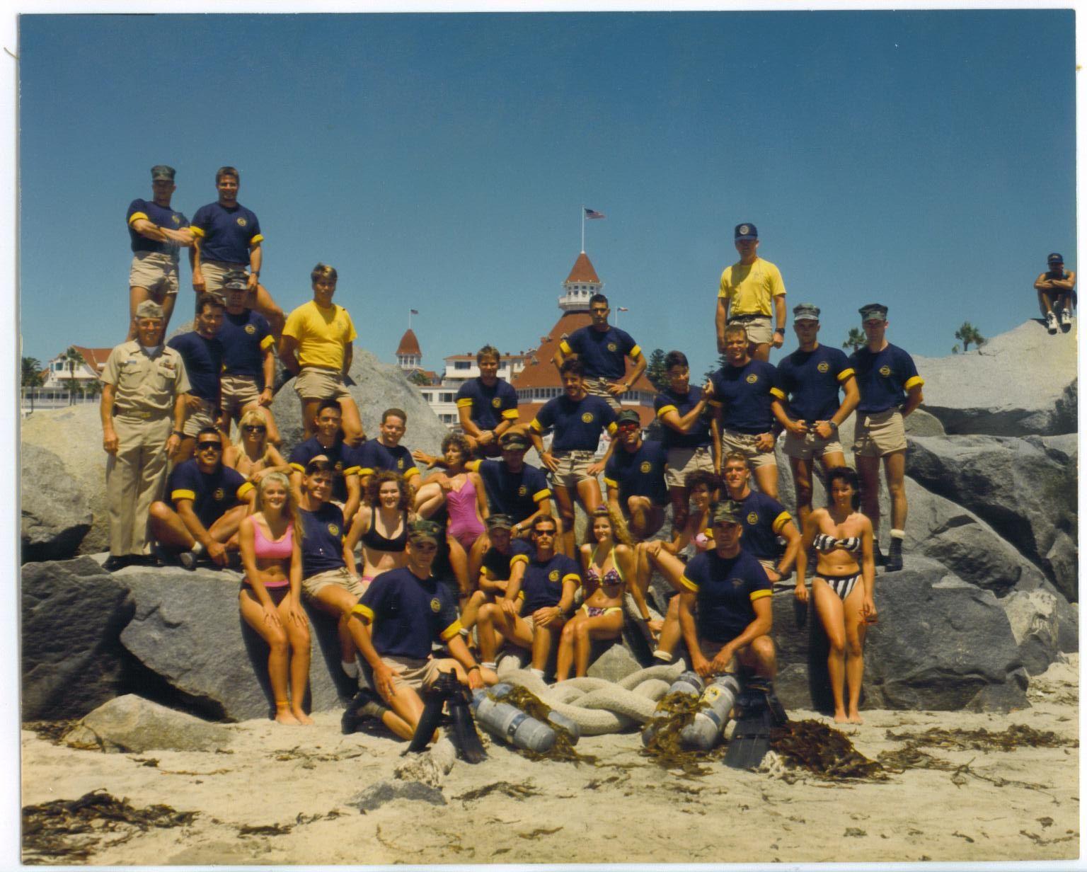 U.S. Navy Dive School Graduation Coronado Island, CA '90