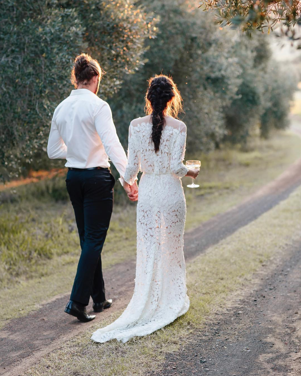 Us silhouette anya gown from jennifer gifford designs wedding