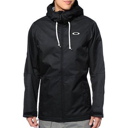 Oakley Recon Black 10K Snowboard Jacket