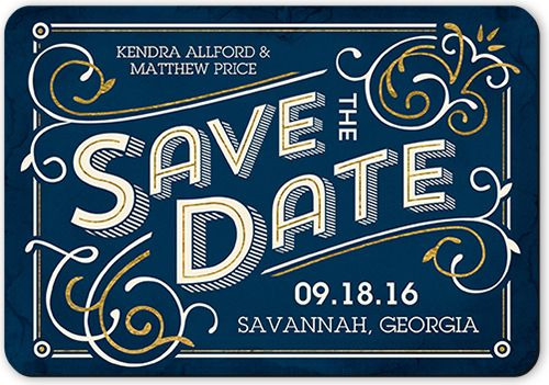 Swirled In Style Save The Date Wedding and Weddings
