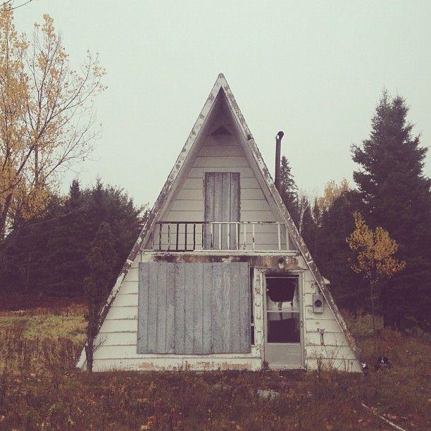 A Frame Cabin Construire Une Petite Maison Belle Maison