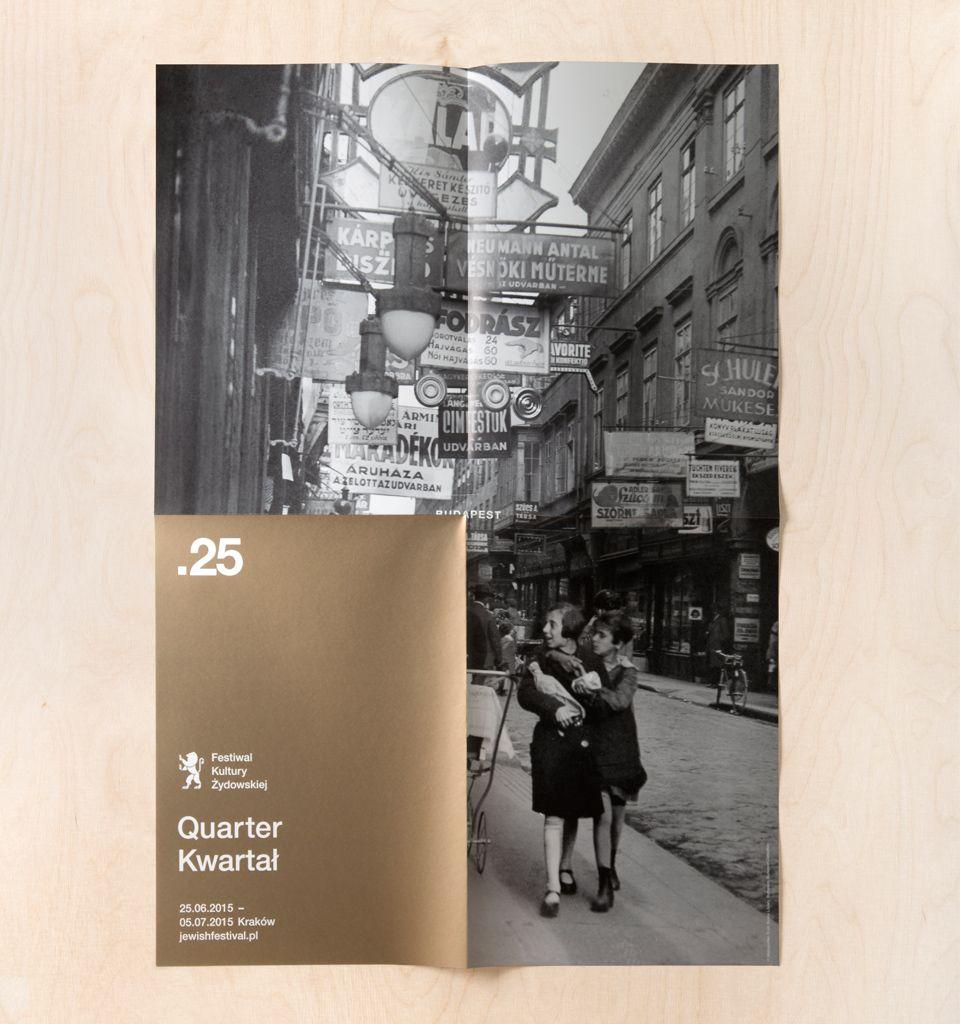 25th Jewish Culture Festival by Studio Otwarte - dose of design