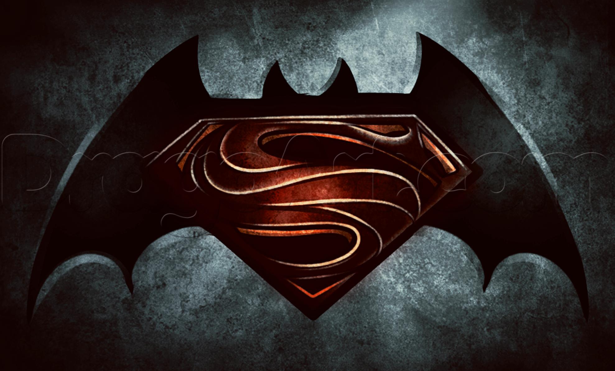 How To Draw Batman Vs Superman Step By Step Dc Comics Comics Free Online Drawing Tutorial Added By Dawn M Batman Drawing Superman Drawing Superman Symbol