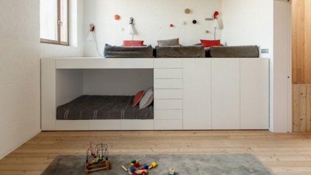 Ikea hack: van een stapelbed naar hoogslaper met leeshoek meiden
