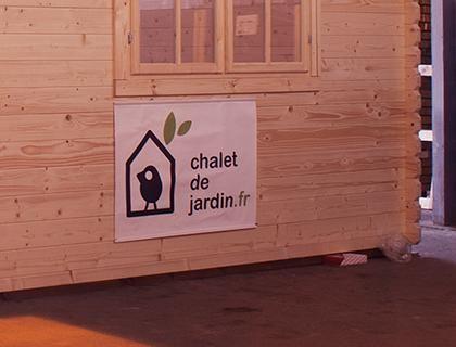 Chalet de jardin Le Chalet Pinterest Chalets - rendre une terrasse etanche