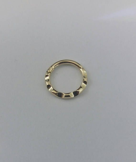 Septum Clicker Clicker 14k Nose Ring Septum Ring Clicker