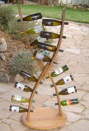 About California Barrel Crafts Wine Stave Art And