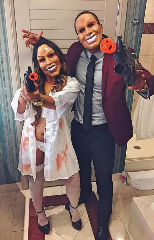 the purge scary couples halloween costume - Black Dynamite Halloween Costume