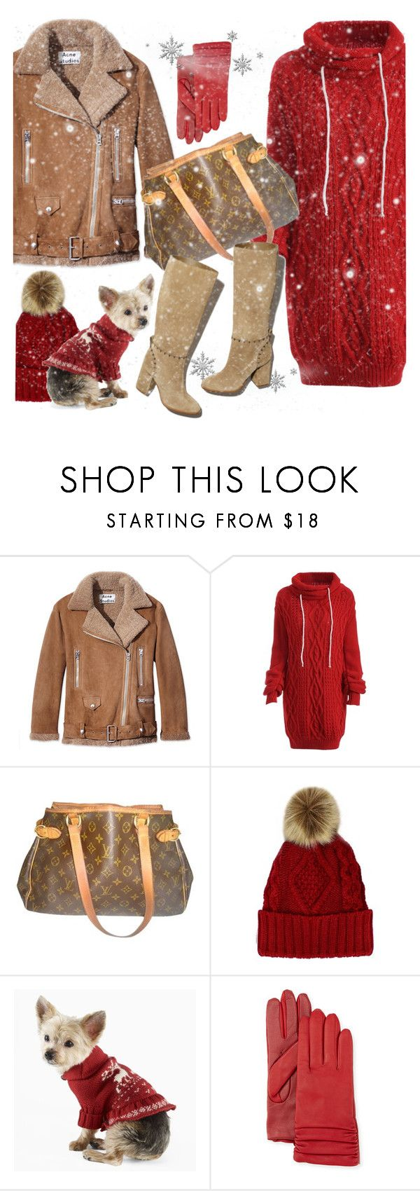 """""""Untitled #4266"""" by julinka111 ❤ liked on Polyvore featuring Acne Studios, Louis Vuitton, Tory Burch, Polo Ralph Lauren and Neiman Marcus"""