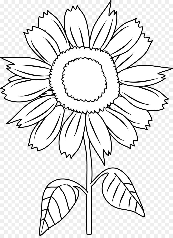 Black And White Clip Art Black Sunflower Cliparts Png Is About Is About Symmetry Point Monoch Girassol Desenho Desenhos Preto E Branco Desenhos Para Tatuar