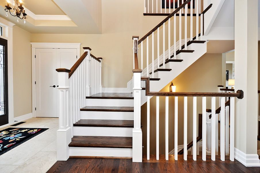 Superb Indoor Stair Railing #9 Interior Stair Railing Ideas