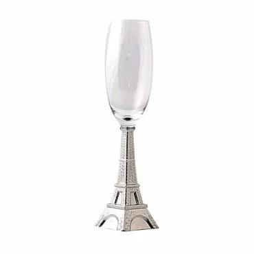 من وحي رقي باريس كاسات عصير راقية على شكل برج ايفل Glassware Champagne Flute Tableware