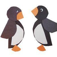 Projekt Pinguin Kindergarten und Kita-Ideen #winterdekobasteln