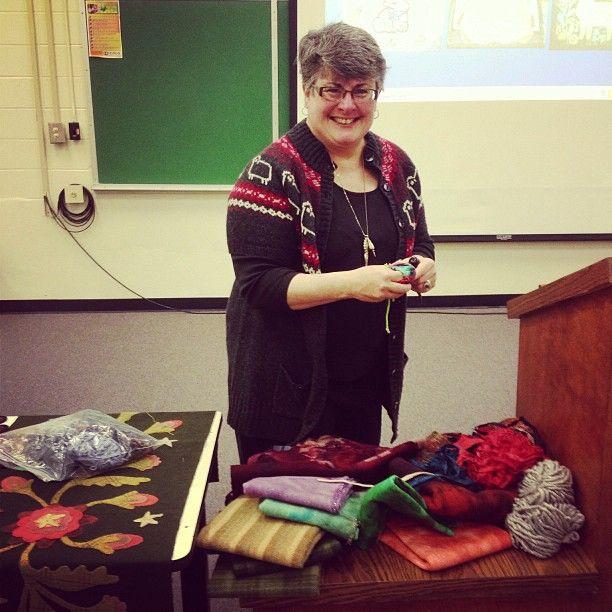 Lisanne Miller Fiber Artist Presents The Art And History Of Rug Hooking