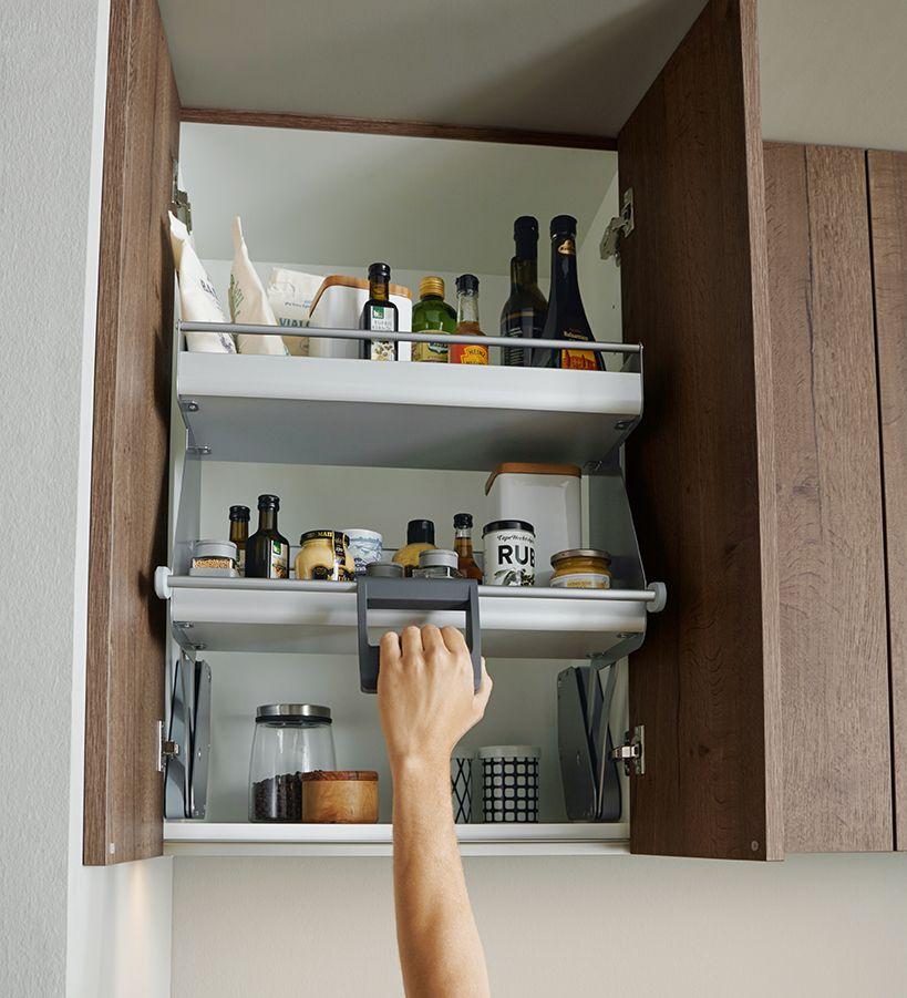 C-Move Cabinet storage #Schüller #Schullerkitchens #germankitchens - ordnung in der küche
