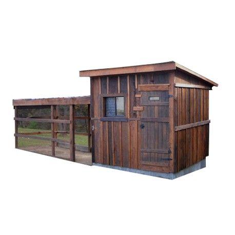 Pollaio in legno con recinto per 30 galline