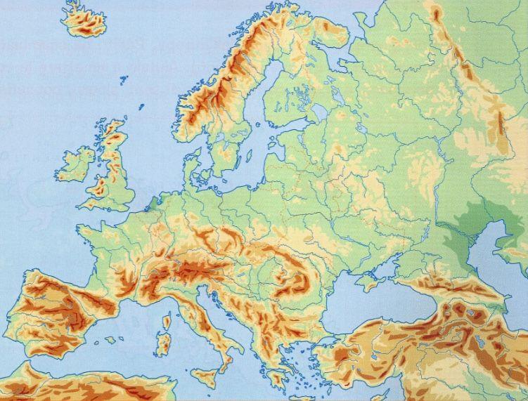 Cartina Europa Fisica.Cartina Fisica Europa Interattiva Thinglink Interactive Media Tag Image Storytelling
