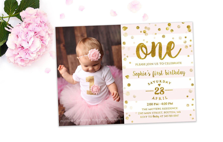 Einladungskarte 1 Geburtstag Einladung 1 Geburtstag Einladung