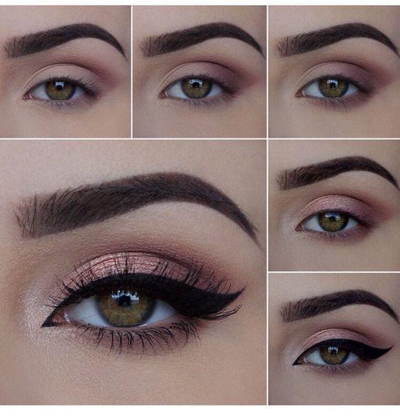 ¿Cómo hacer un hermoso maquillaje para los ojos?