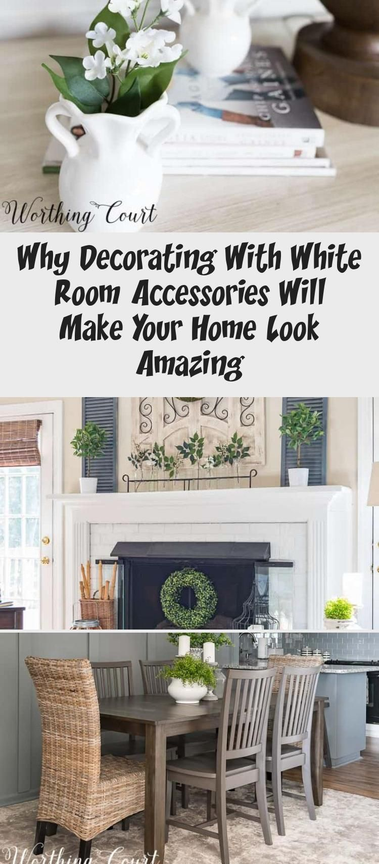 Why Decorating With White Room Accessories Will Make Your Home Look Amazing – KTCHN Kitchen