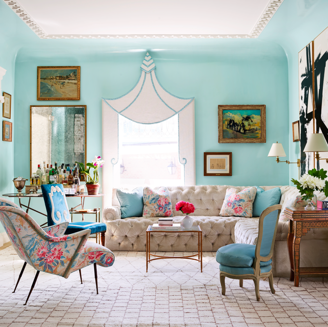 22 Eye-Catching Living Room Color Combinations That Will ...