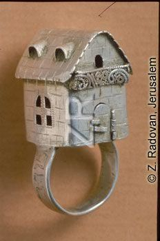 827 ANCIENT TRADITIONAL JEWISH WEDDING RING FROM CENTRAL EUROPE IN