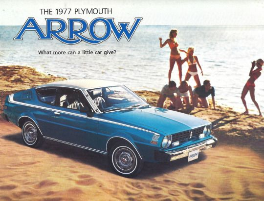 77 plymouth arrow