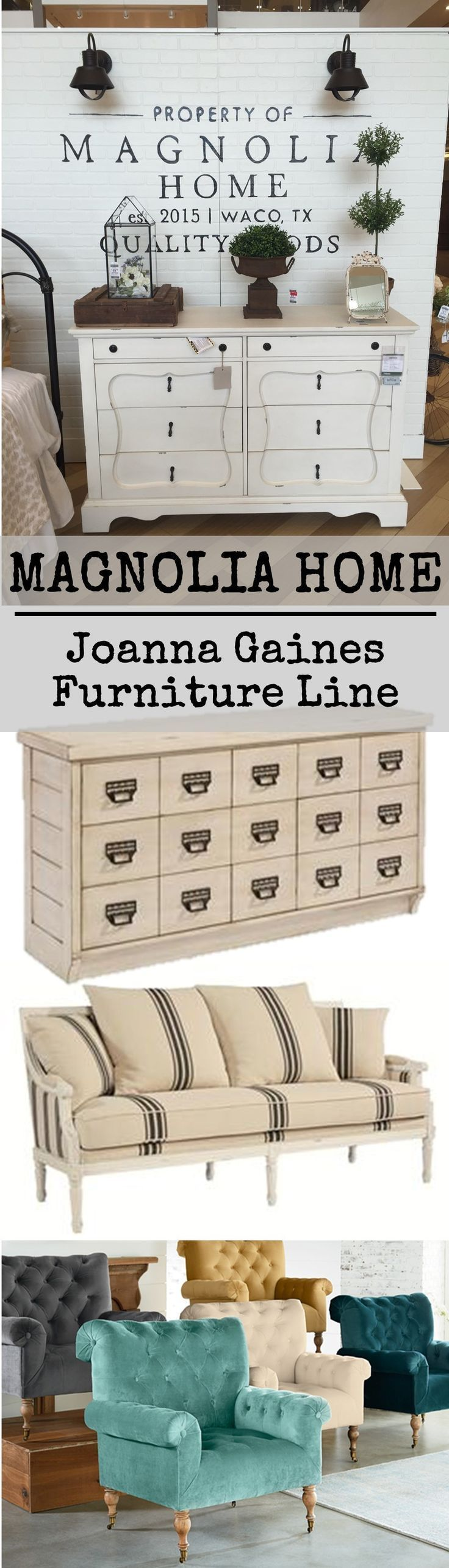 On My Recent Shopping Trip I Checked Out Joanna Gaines New Furniture Line Magnolia Home It Di Magnolia Home Decor Joanna Gaines Furniture Joanna Gaines House