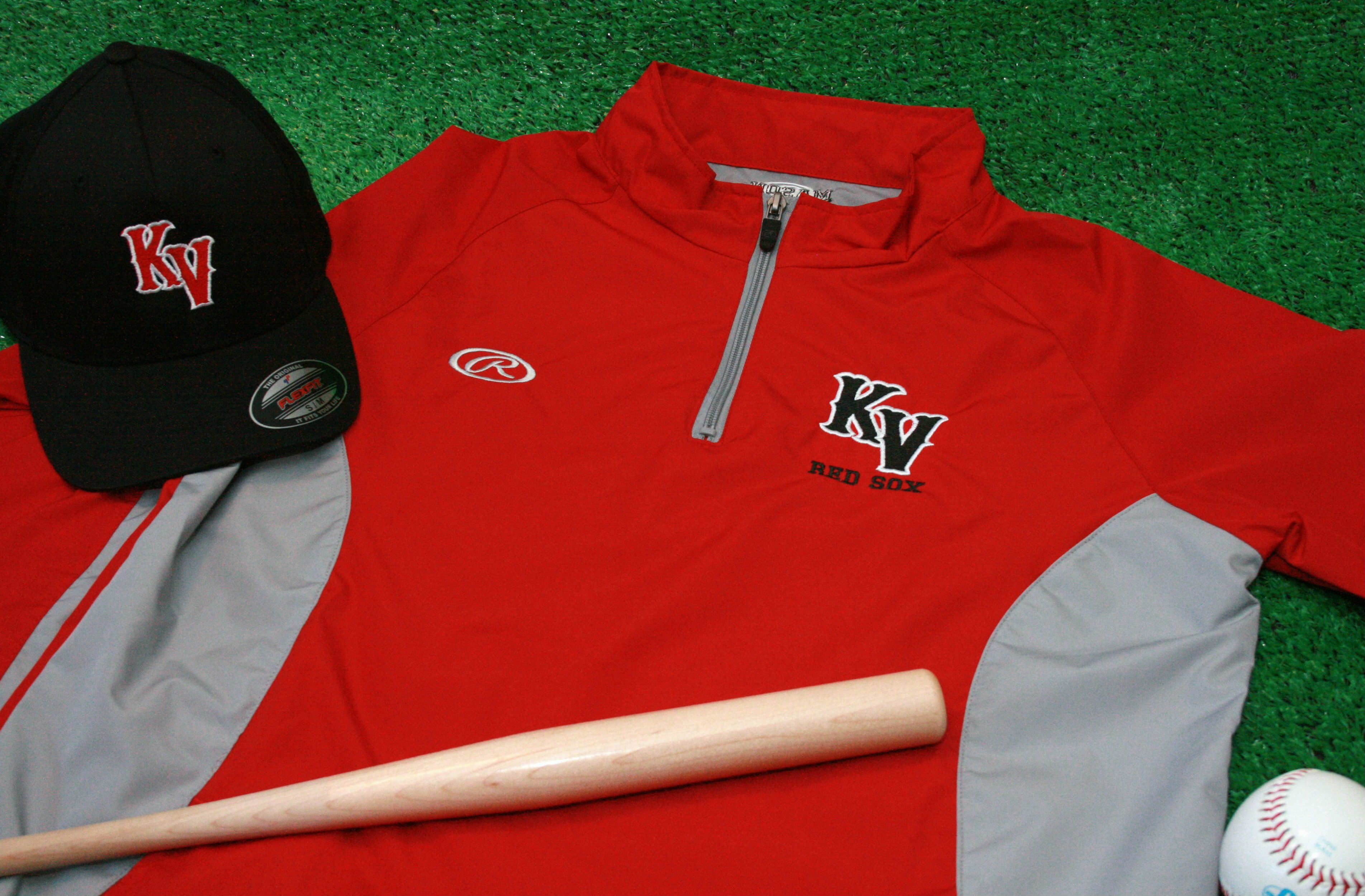 07b49029f Rawlings Warm Up Jacket with Embroidered Team Logo | Custom Baseball ...