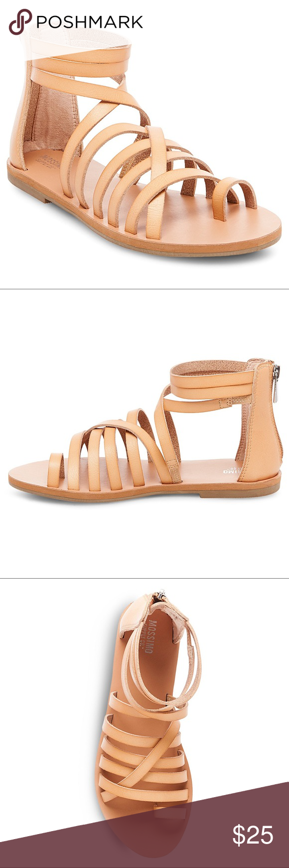 683ba30d1ae Mossimo Jessie Tan Gladiator Sandals New Brand new. Size 6 has tag  attached