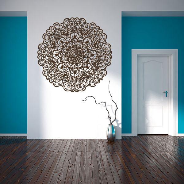 Vinilo decorativo mandala stickers viniloscasa - Mandalas para pared ...