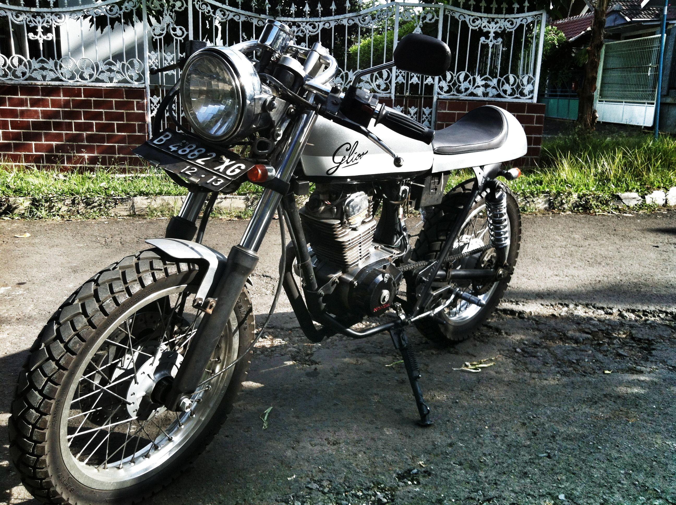 "1980 Honda GL100 ""glioo"" Landasan Motor Sport, Jakarta"