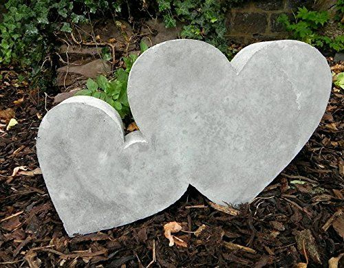 Herz Giessform   Betongussform   Herzen Beton Deko Selber Machen   Beton  Garten Beton Giessen
