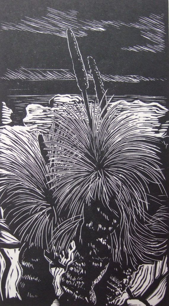 Xanthorea grass tree Flinders Ranges South by maggiestein on Etsy, $50.00