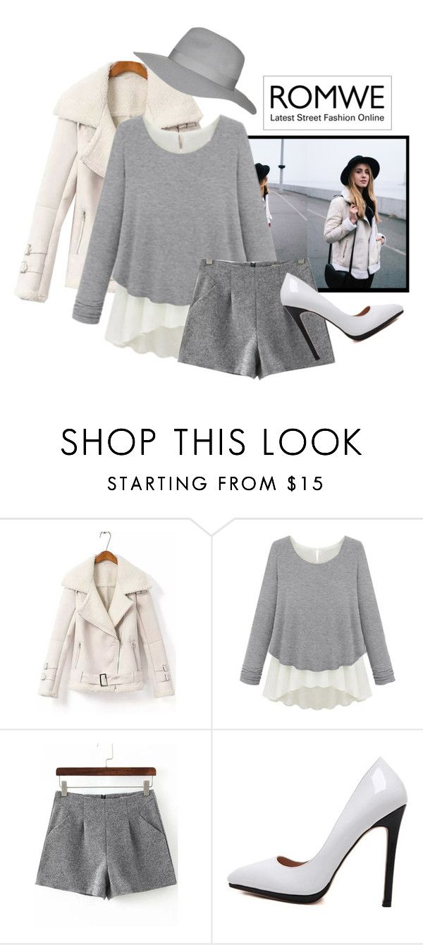 """""""Loose Grey Sweater"""" by teez-biz-nez ❤ liked on Polyvore featuring Topshop, women's clothing, women, female, woman, misses and juniors"""