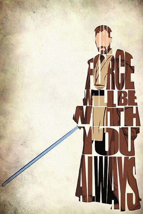 Obi-wan Kenobi - Ewan Mcgregor Poster By Ayse Toyran