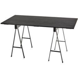 Studio Simple rechteckiger Tisch / mit Tischböcken - 150 x 75 cm - Serax - Schwarz SeraxSerax