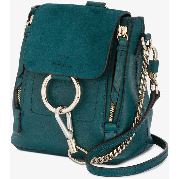 a5765b805 Chloé Mini Faye Backpack ($1,490) ❤ liked on Polyvore featuring bags,  backpacks,