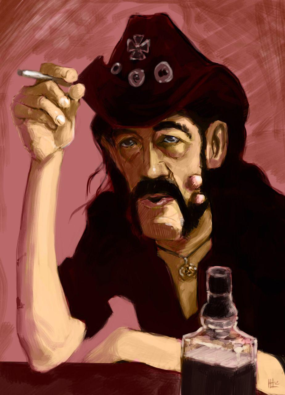 Lemmy. By Luis Dourado. (www.hlvisions.com)