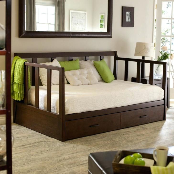 Bedding For Daybed With Trundle Daybeds Pop Up Bedroom Dark Brown Wooden Bed Drawers Also Bars On The Side Board Feat